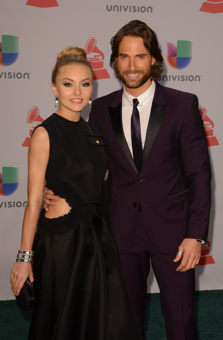 Angelique Boyer angelique boyer y sebastian rulli | 15th latin grammy awards